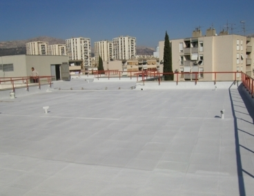 SPF Roofing and Reflective Cool Roof Solutions from Rhino