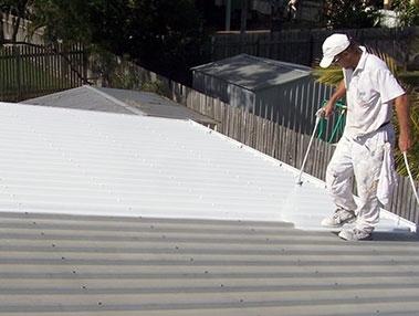 Acrylic and Silicone Rhino Linings Roof Coatings